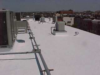 Cool Roofing project performed by Roof Menders